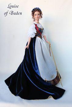 Elizabeth Alexeievna (Louise of Baden), Empress of Russia Barbie Barbie Dress, Barbie Clothes, Ooak Dolls, Blythe Dolls, Russia Pictures, Estilo Grunge, Moda Boho, Barbie Collection, Barbie World