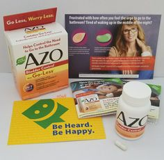 Azo Bladder Control with Go-Less. Help reduce the urge to go to the bathroom with naturally source ingredients like pumpkin seed extract. #ControlTheGo #Smiley360 #freesample #ad