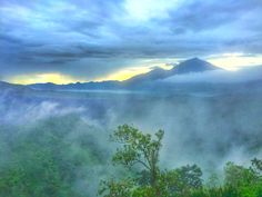 Mount Batur in the morning