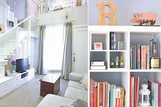 Repurposed pieces complete Bianca King's shabby chic townhouse