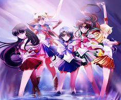 Sailor Senshi by Athena-chan.deviantart.com on @DeviantArt