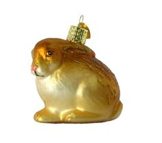 Old World Christmas Cottontail Bunny Ornament, Brown -- You can get more details by clicking on the image.