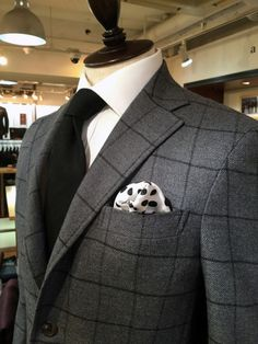 BUTTERWORTH 2015FW Wool 92% CASHMERE8% Butterworth, Bespoke Tailoring, Suit And Tie, Blazer, Wool, Suits, How To Wear, Fashion, Style
