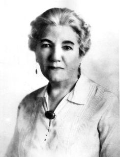 Laura Ingalls Wilder (1857-1957) author of the Little House on the Prairie books.