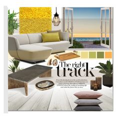"""""""Beach House Decor"""" by zoey-heart ❤ liked on Polyvore featuring interior, interiors, interior design, hogar, home decor, interior decorating, Mapleton Drive y Hawkins"""