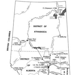 Alberta During Territorial Period 1870-1905