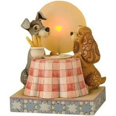 Disney Jim Shore Lady And The Tramp A Moonlight Romance Resin Figurine Disney Magic, Disney Art, Disney Movies, Disney Pixar, Walt Disney, Cinderella Disney, Disney Characters, Disney Collectibles, Princesa Ariel Da Disney