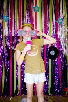 Rock Star Party...photo booth ideas