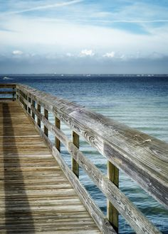 beach coastal wooden docks pier fishing pier by photographybyVena, $30.00