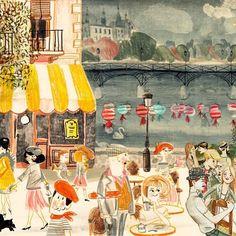 #paris revisited #lucianolozano #ilustrista #illustration #ilustración #children #childrensbook