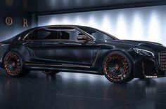 Mächtig Wumms im Motorraum Mercedes-Maybach S600