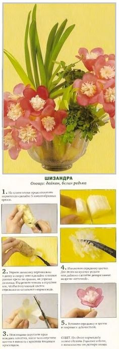 Crafts from vegetables