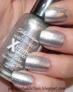 i have the sally hansen xtreme wear nailpolish in celeb city you can buy this at your local drugstore