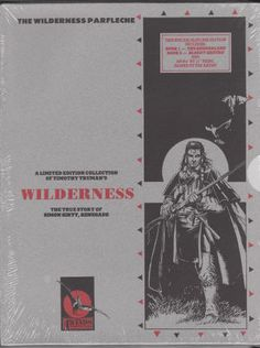 THE WILDERNESS PARFLECHE by Timothy Truman. Softbacks in Slipcase, As New/Still Sealed in Original Shrinkwrap (Assumed NM-M using comic book grading), 1990, Limited Slipcase Edition, 4Winds Publishing Group, includes print signed by Tim Truman, $50