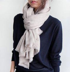 scarf + cashmere