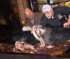 Pat Martin is a #barbecue legend, you gotta try his whole hog bbq next time you're in #Nashville.
