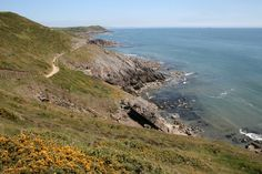 A view from the Gower Macmarathon walk this year taking place on Saturday 1 September 2012. Join us for this spectacular walk along the beautiful Welsh south coast.