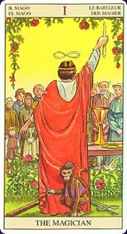 Tarot of the New Vision, a deck that has all of the characters reversed. I'm curious about this deck. ~ Bhavya