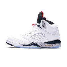 fde0f0b8efdbe 136027-104 Air Jordan 5 Retro Men s Shoes