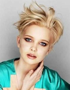 """Short Funky Hairstyle : Simple Hairstyle Ideas For Women and Man"""""""