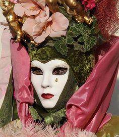 Venetian carnival mask...
