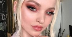 Global Artistry Ambassador Hung Vanngo created Dove Cameron's stunning Daytime Emmy's look using none other than the Coconut Fantasy Collection. Eye-conic Eyeshadow Palette in Fantascene on the eyes using the shades Covets, She Said, & Meet Ya. #entry