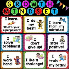 Students with a growth mindset are able to understand and celebrate the…
