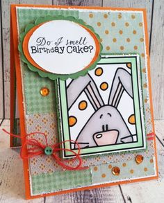 Funny Bunny ~ by Jeannie1862 - Cards and Paper Crafts at Splitcoaststampers