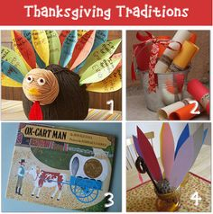 12 Thanksgiving Crafts
