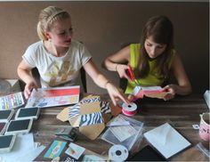 DIY traktaties, wedding favors en trouwbedankjes of voor een babyshower! Kelly Caresse | Creatief bezig met DIY met Stampin' up!