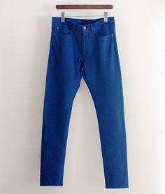 INDUSTRIAL CATEGORY ジャージーデニム5ポケットパンツ http://floraison.shop-pro.jp/?pid=74242860