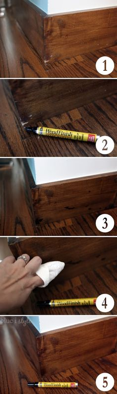 Blue i Style: {five minute friday} The Fastest Way to Refresh Wood Furniture, Trim and Floors