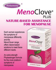 Bioharmony Sa MenoClove is a natural alternative to assist you in dealing with the uncomfortable symptoms associated with Menopause.  http://www.bioharmony.co.za/