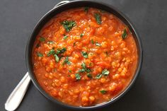 Simple to make, budget friendly, highly nutritious, & packed with flavor, this lentil soup makes a wonderful summertime meal