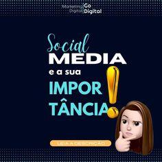 """""""‼️IMPORTANTE‼️ As mídias sociais são um dos melhores locais para que você possa divulgar sua…"""" #socialmeida #redessociais #negocionainternet Sem Internet, Movie Posters, Social Media, Places, Film Poster, Billboard, Film Posters"""
