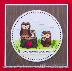 Lawn Fawn Mom & Me stamps. coloured wiuth Copics. www.clairmatthews.com