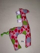 Taggie Giraffe for baby easy to sew