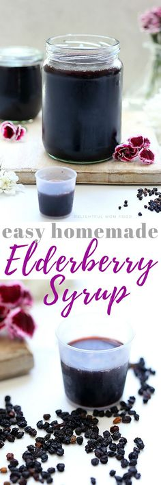 for how to make elderberry syrup! This homemade elderberry syrup recipe … for how to make elderberry syrup! This homemade elderberry syrup recipe is simple and will save you a bundle of money! Elderberry Juice, Healthy Gluten Free Recipes, Yummy Recipes, Vegetarian Recipes, Dried Berries, Sugar Free Syrup, Bowl Of Soup, Recipe For Mom, Larissa Reis