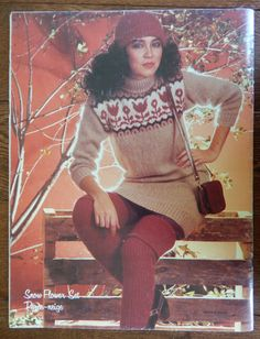 Knitted Sweaters and Crochet Vest Pattern/Vintage Jaeger Michelle 509.Sizes; 10-12-14-16 Cardigans, Fair isle Slipover, Cabled, Pullover by RedWickerBasket on Etsy