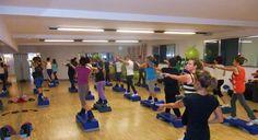Our aerobics class