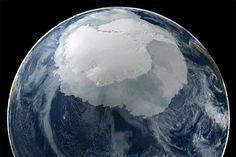 Detectada una anomalía enorme que se esconde bajo el hielo de la Antártida #viral