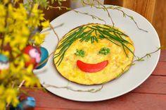 Kreatúrky: Veľkonočná omeletka usmievavá Grétka