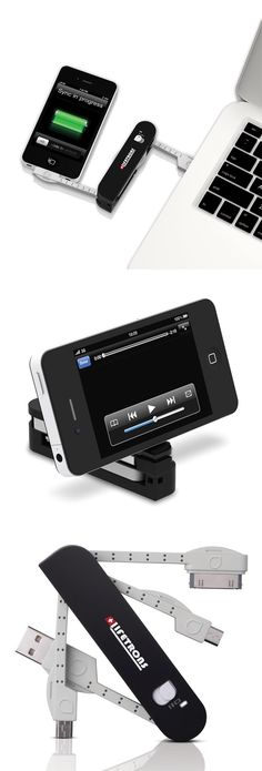 Multi-Tool Adaptor - syncs and charges mobile devices from a computer via USB #tecnologia#novidade#pinterest