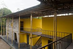 SchilderScholte architects, Community Center, Rajarhat, Bangladesch, foundation Pani, Gemeindezentrum, Bambus