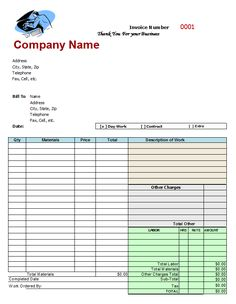 free fillable invoice form | blank commercial invoice | projects, Invoice templates