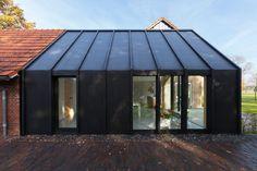 Contemporary Add-On Transforms This Dutch 50s Farmhouse - http://freshome.com/contemporary-farmhouse