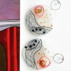 Red Moon earrings Unique resin art Inspiration : #romance , #seaatnight #redmoon Red Moon, Moon Earrings, Unique Earrings, Resin Art, Jewelry Art, Romance, Instagram, Inspiration, Romance Film