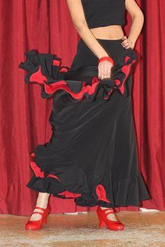 Cute flamenco skirts!