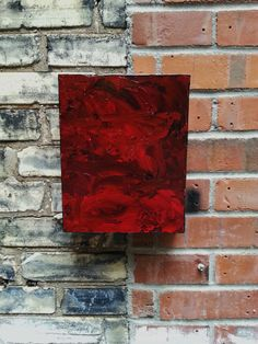 Abstract an original abstract painting by HeartsideGallery on Etsy,