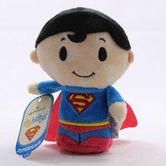 Hallmark Itty Bittys Bitty DC Comics Plush Superman 4 Inches Tall